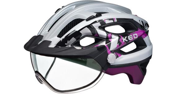 KED Covis Hjelm violet/hvid